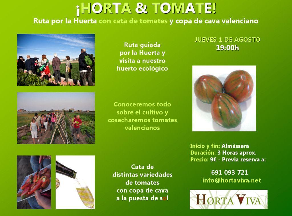 Cartel Horta & Tomate 2013