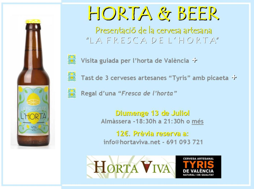 Cartell Horta & Beer 2014