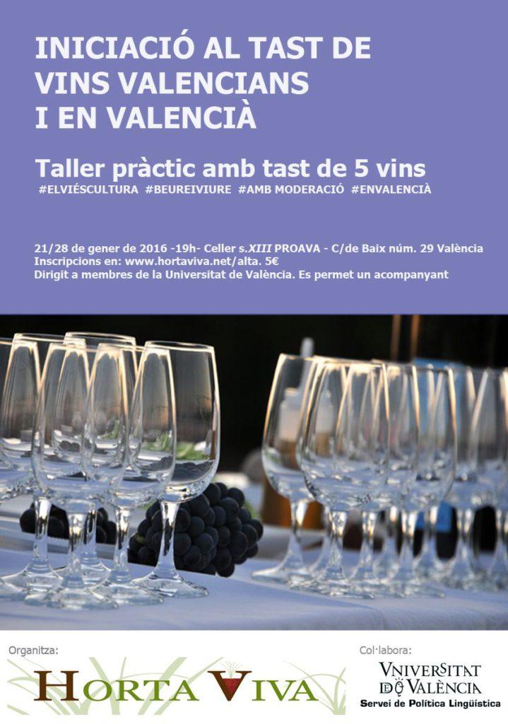 Cartell tast de vins SPLUV